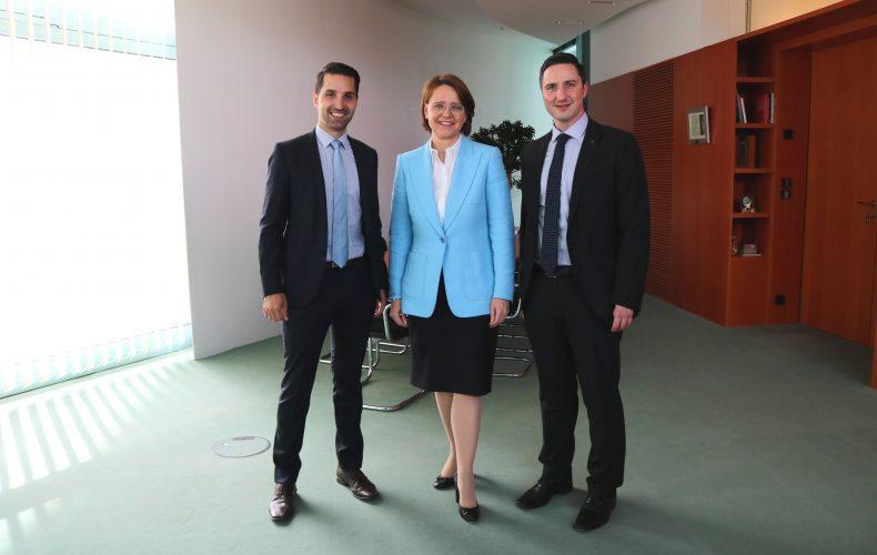 Wirtschaftsjunioren aus dem Wahlkreis Tübingen-Hechingen zu Gast im Deutschen Bundestag