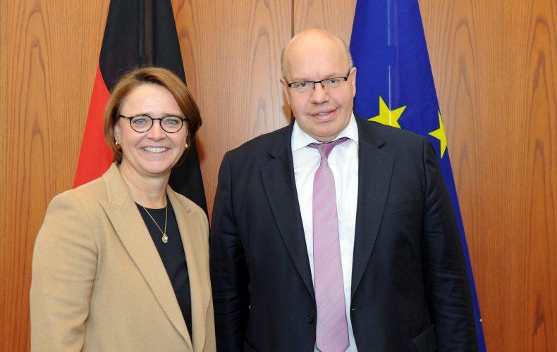 Gespräch zum Thema Fachkräftegewinnung mit Bundesminister Altmaier