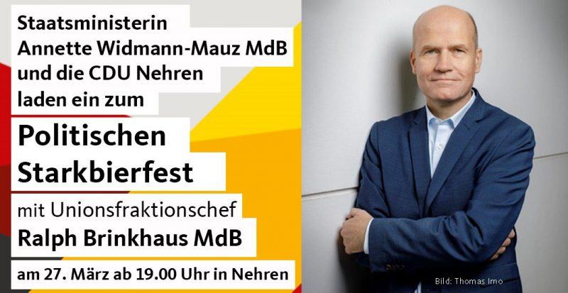 Politisches Starkbierfest mit Ralph Brinkhaus MdB
