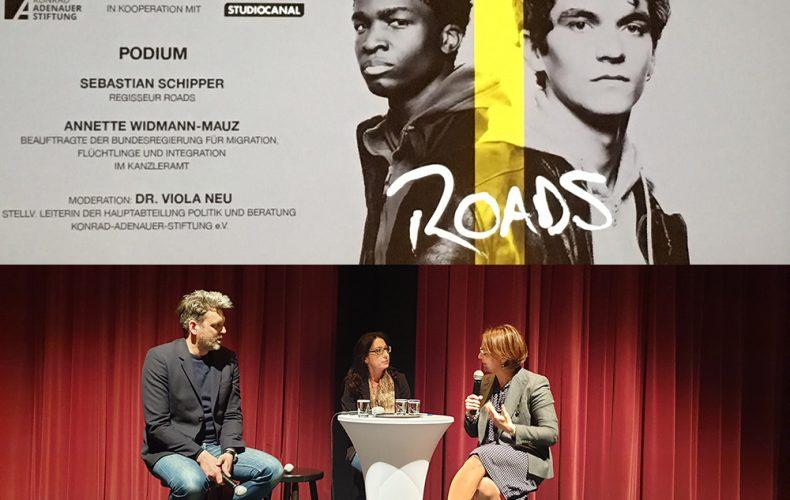 """Über Flucht und Freundschaft – Vorabpremiere des Films """"Roads"""""""