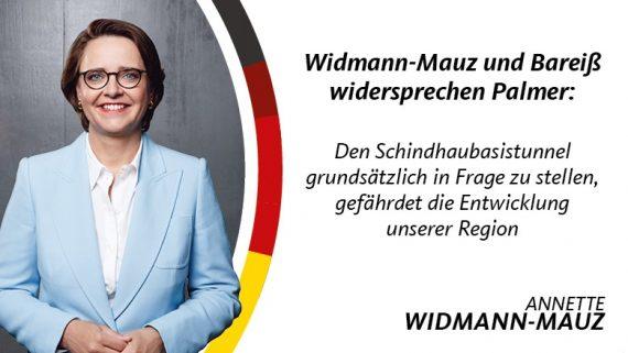 Widmann-Mauz und Bareiß widersprechen Palmer Den Schindhaubasistunnel grundsätzlich in Frage zu stellen, gefährdet die Entwicklung unserer Region