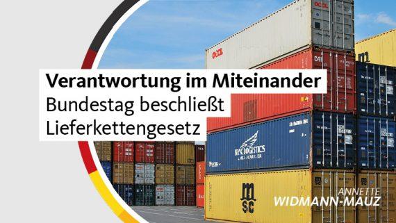 Widmann-Mauz MdB: Menschenrechte, Mittelstand und Marktwirtschaft – Verantwortung im Miteinander