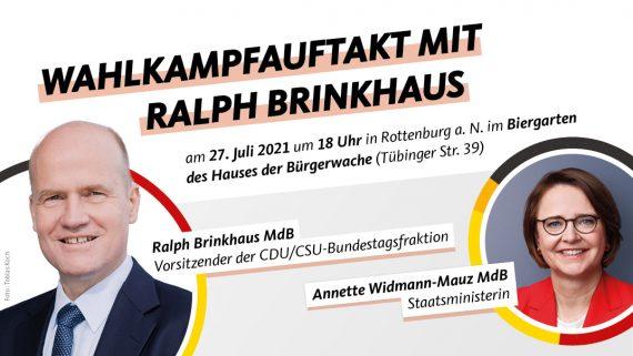 Wahlkampfauftakt mit Ralph Brinkhaus MdB
