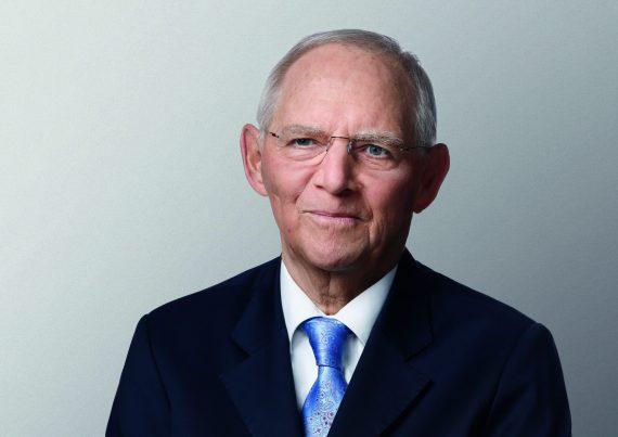 """""""Zukunftsfragen: Generation Z im Dialog"""" mit Dr. Wolfgang Schäuble MdB Präsident des Deutschen Bundestages"""