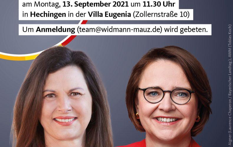 """Montagsmatinee """"Ehrenamt? Ehrensache!"""" mit Ilse Aigner MdL, Präsidentin des Bayerischen Landtags"""